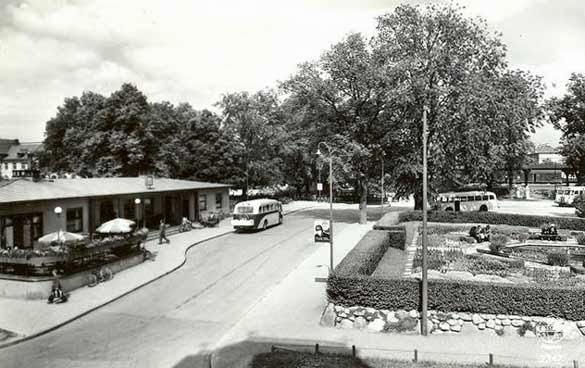 Pappas jobb på busstationen i Uppsala (1950-talet)