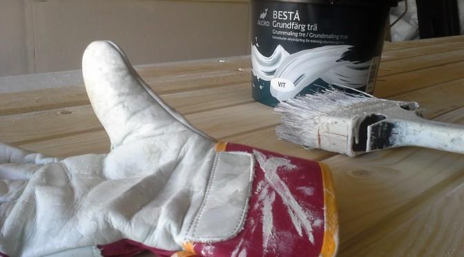 Husmålning – projektet som aldrig tar slut…