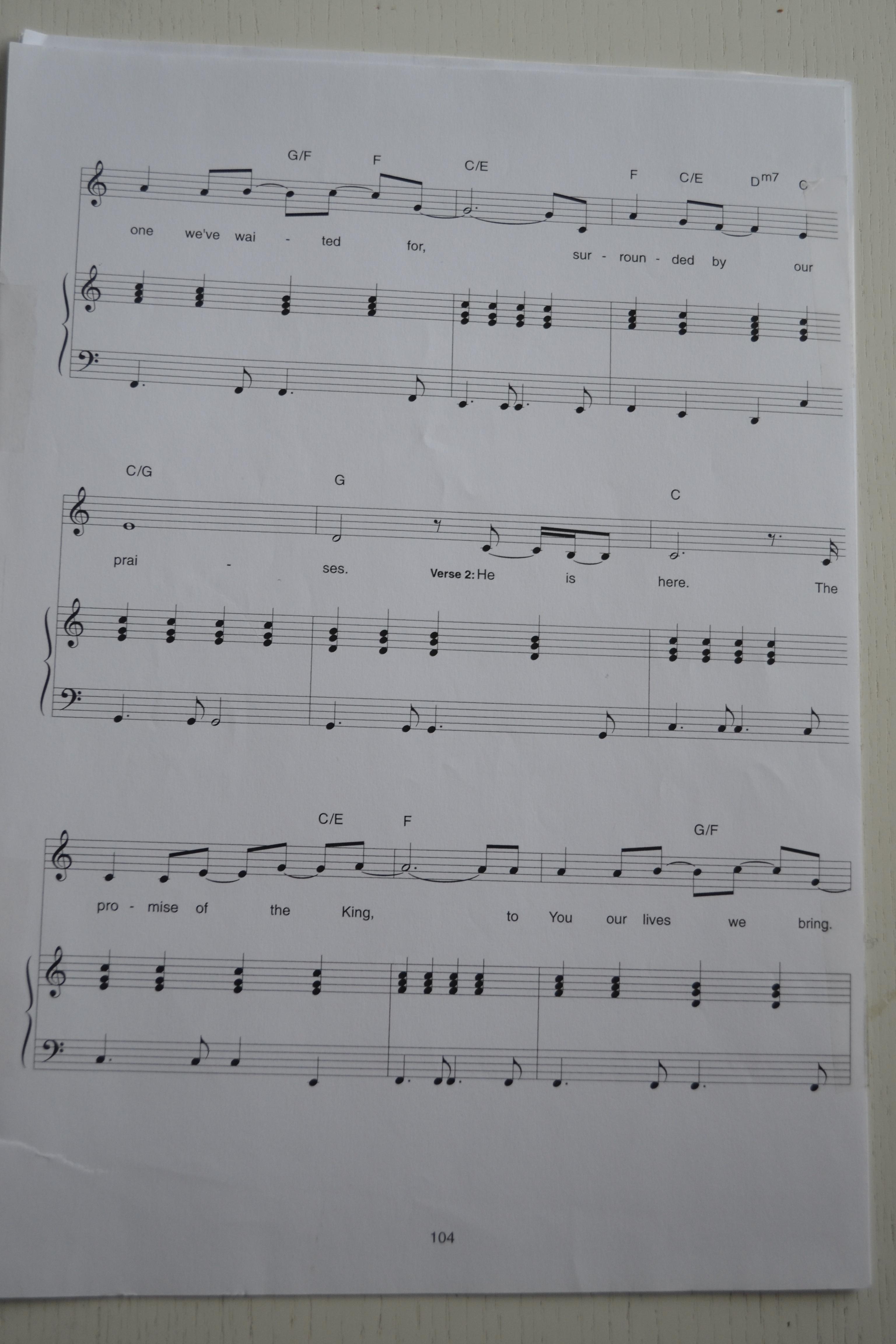 Hallelujah (Zschech) - Han är här, sidan 2