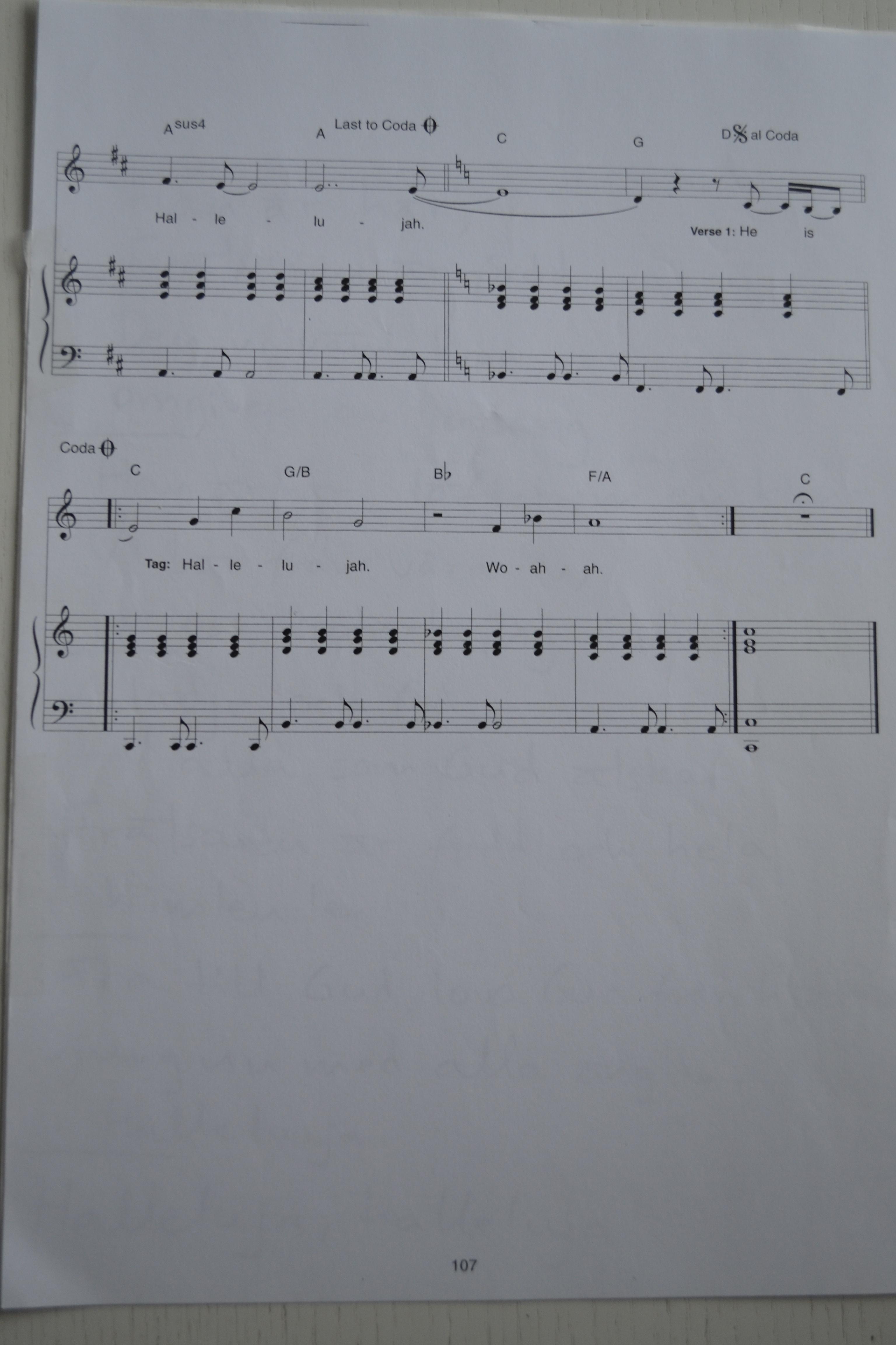 Hallelujah (Zschech) - Han är här, sidan 5