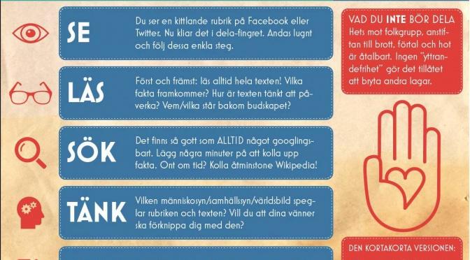 Källkritik på Facebook