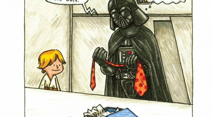 Darth Vader – en kärleksfull far