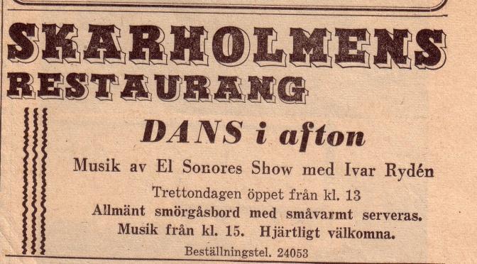 Skarholmens restaurang i Uppsala