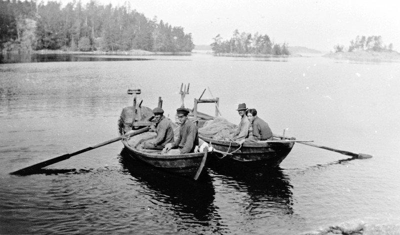 Notfiske vid Lilla Askö (1927)