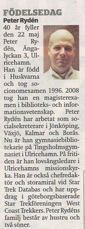 120521 Urklipp från Borås tidning