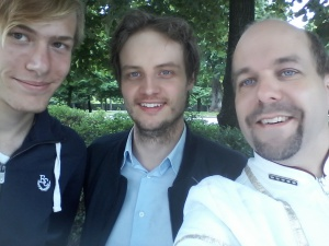 160720 Groupie med Mr Trek och Aike