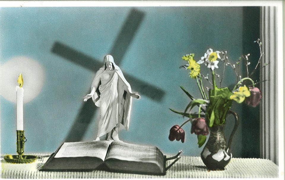 Altare, kors, Kristus, ljus, sorg