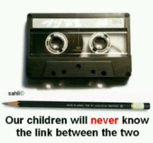 kassettband-och-blyertspenna