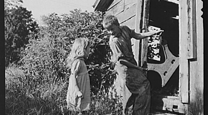 Bilder från USA 1935-1945