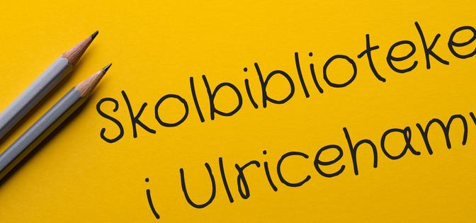 Brev till skolbiblioteken i Ulricehamn, 19 maj 2017